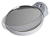 Kosmetikspiegel mit Saugnapf und LED Beleuchtung by Bavaria Bäder-Technik GdbR