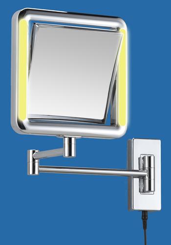 Kosmetikspiegel mit Vergrösserungsspiegel als Lichtspiegel mit LED Beleuchtung by Bavaria Bäder-Technik GdbR