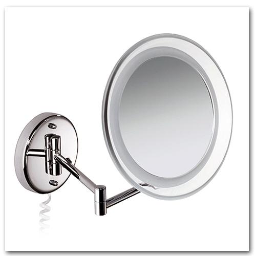 Kosmetikspiegel 10-fach Vergrösserung mit Beleuchtung