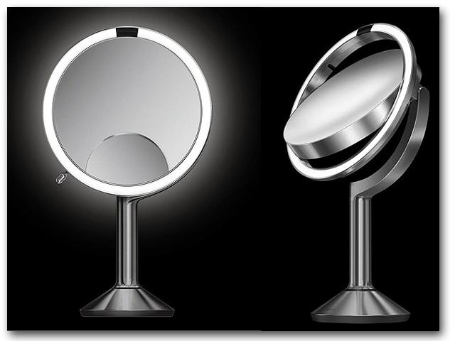 Kosmetikspiegel mit 5-fach und 10-fach Vergrösserung