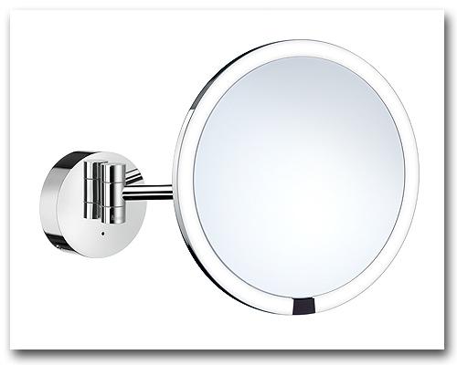 Kosmetikspiegel Schminkspiegel beleuchtet mit 7-fach Vergrösserung