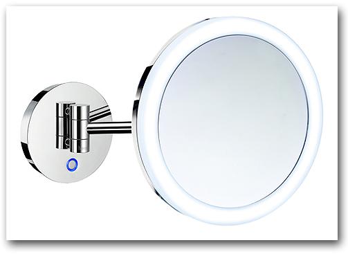 Kosmetikspiegel mit Batterie by Bavaria Bäder-Technik GdbR