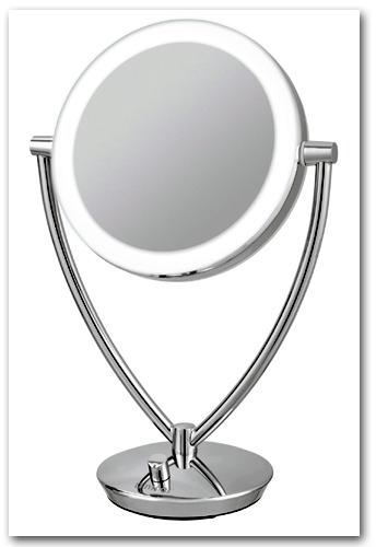 Design Kosmetikspiegel als Standmodell