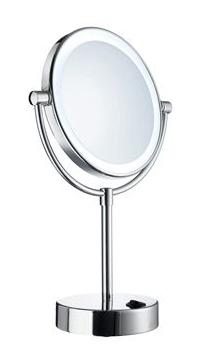 Kosmetikspiegel mit LED Beleuchtung als Lichtspiegel by Bavaria Bäder-Technik GdbR