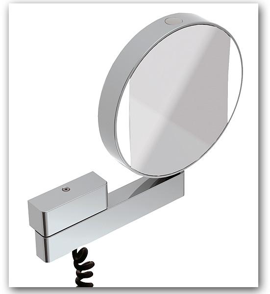 Design Kosmetikspiegelmit 3-fach und 7-fach Vergrösserung by Bavaria Bäder-Technik GdbR