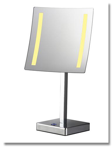 Beleuchteter Kosmetikspiegel zum Stellen mit Licht by Bavaria Bäder-Technik GdbR