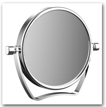 Reisespiegel und Kosmetikspiegel mit Vergrösserung