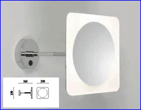 Lichtspiegel als Kosmetikspiegel und Schminkspiegel by Bavaria Bäder-Technik GdbR