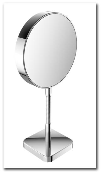 Kosmetikspiegel Standspiegel mit 3-fach und 7-fach Vergrösserung by Bavaria Bäder-Technik GdbR